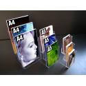 Porte brochures comptoir 3 cases