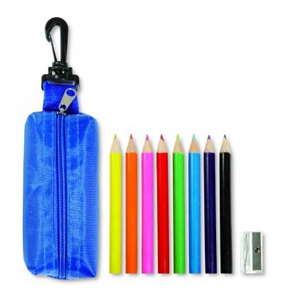 Trousse de 8 crayons de couleur